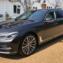 BMW 7 series luxury personified