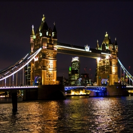 Explore London at night with A&J Executive