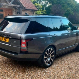 Extra luggage? No problem with our Range Rover