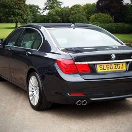 bmw 7 series luxury