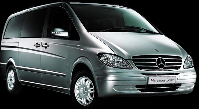 Mercedes Viano executive cars