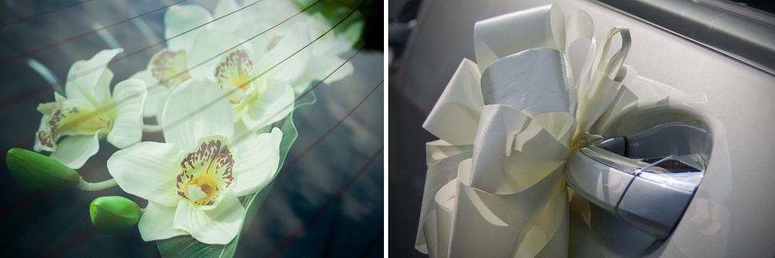 fully dressed executive luxury wedding cars
